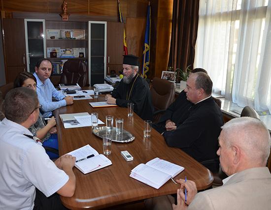 Protocol pentru protejarea monumentelor din patrimoniul Episcopiei Ortodoxe
