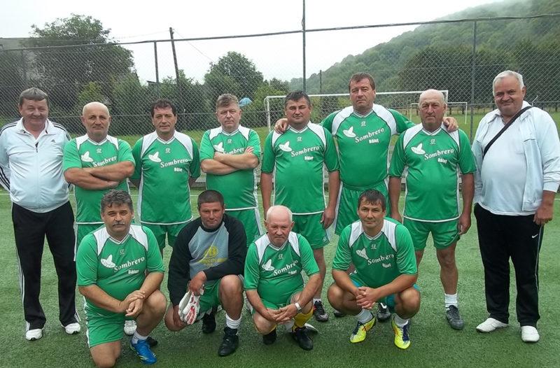 Echipa Băiuț – vicecampioană la fotbal în Ucraina