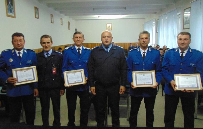 Trecere în rezervă la Inspectoratul de Jandarmi Judeţean