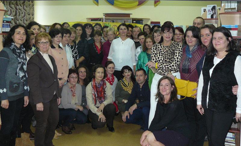 Reuniune a bibliotecarilor școlari la Șomcuta Mare
