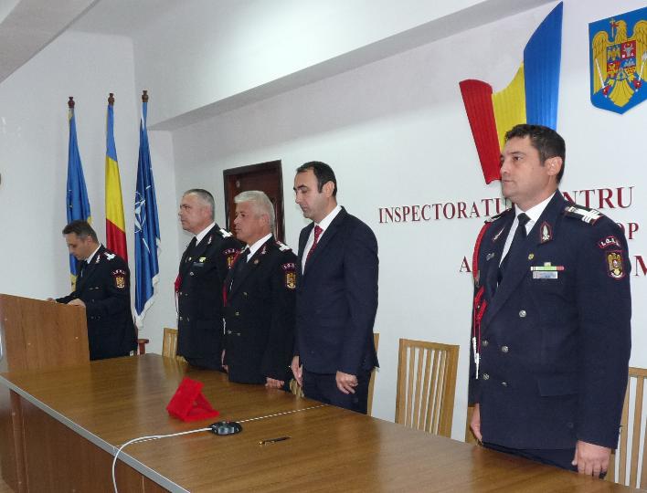 Conducerea ISU Maramureș a fost schimbată