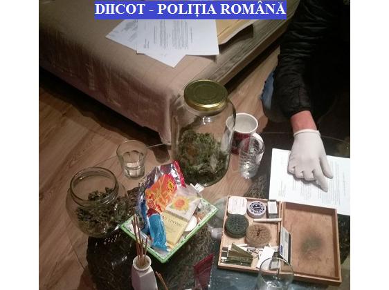 Trafic de droguri în Maramureș. 4,5 kg de canabis ridicat de DIICOT