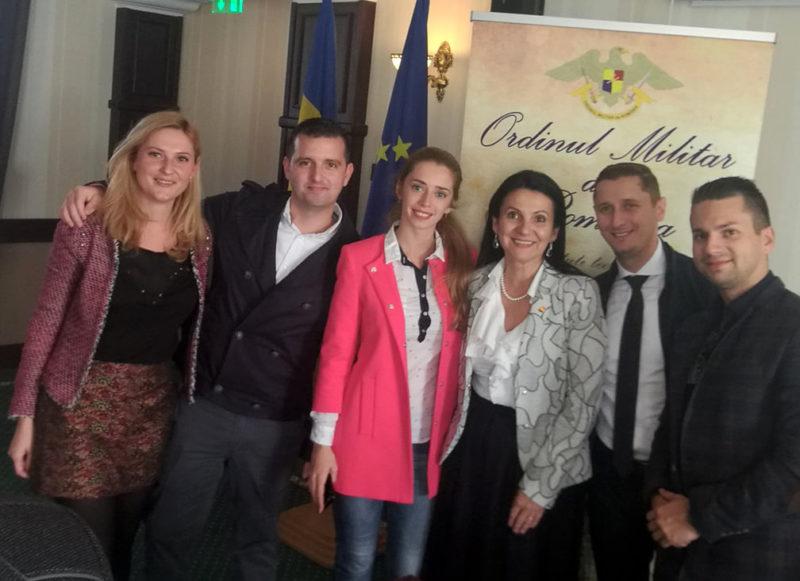 Sorina Pintea, comandor al Ordinului Militar de România