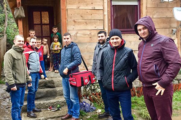 """Acțiune a TSD Maramureș: """"Să fim mai buni, să fim solidari cu semenii noștri"""""""