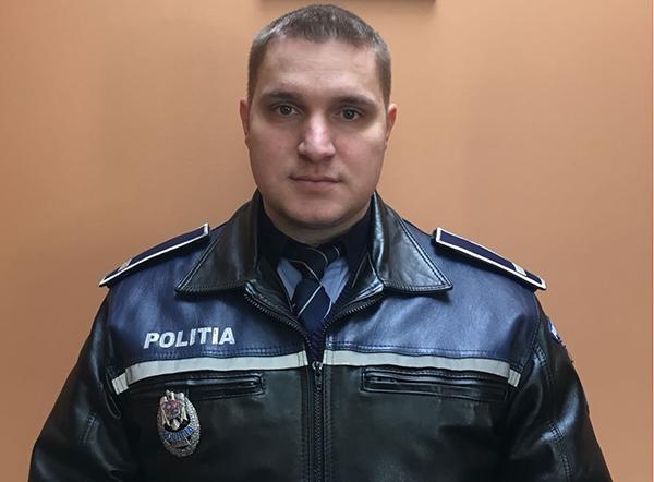 Polițist salvator în Baia Sprie