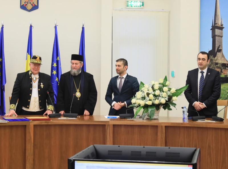 Academician – Cetățean de onoare al județului
