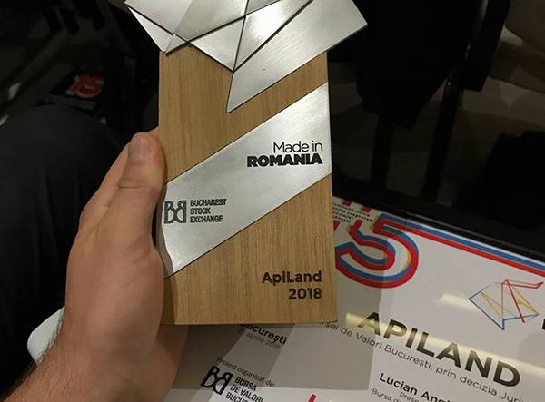 """Firmă din Maramureș premiată la gala """"Made in Romania"""""""