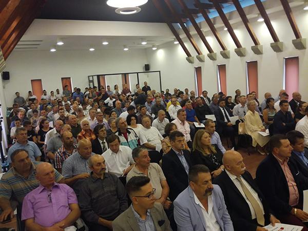 Conferință județeană la UNPR. Vasile Gherman a fost ales prim-vicepreședinte