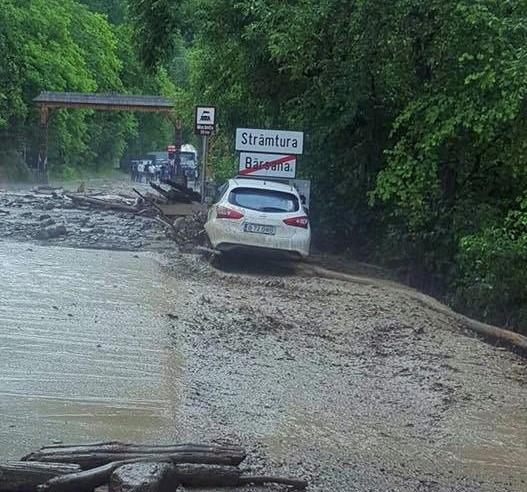 Pagube semnificative produse de inundații în Maramureș