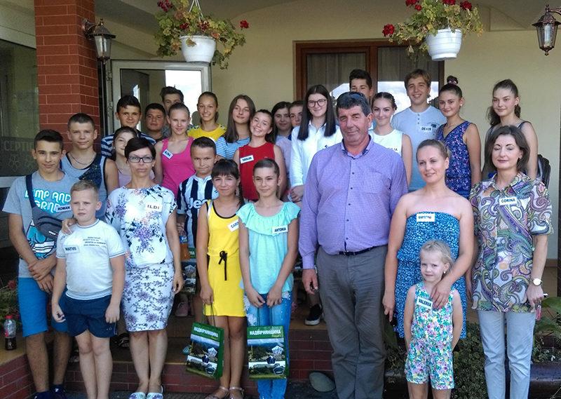 Elevi din Ucraina, în tabără la Șomcuta Mare