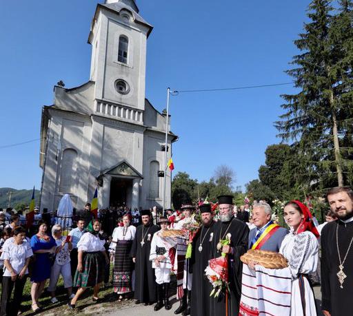 Hram istoric la biserica ortodoxă din Rohia