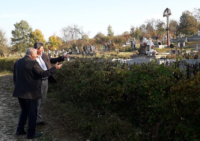 Cimitire curățate de administrația Șomcuta Mare
