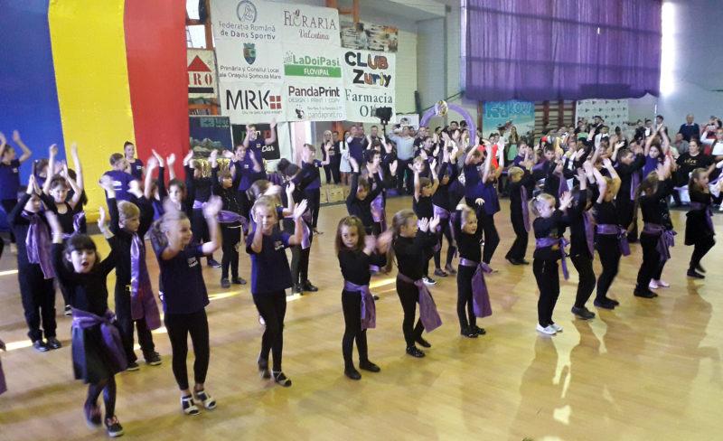 Șomcuta Mare – capitala dansului sportiv