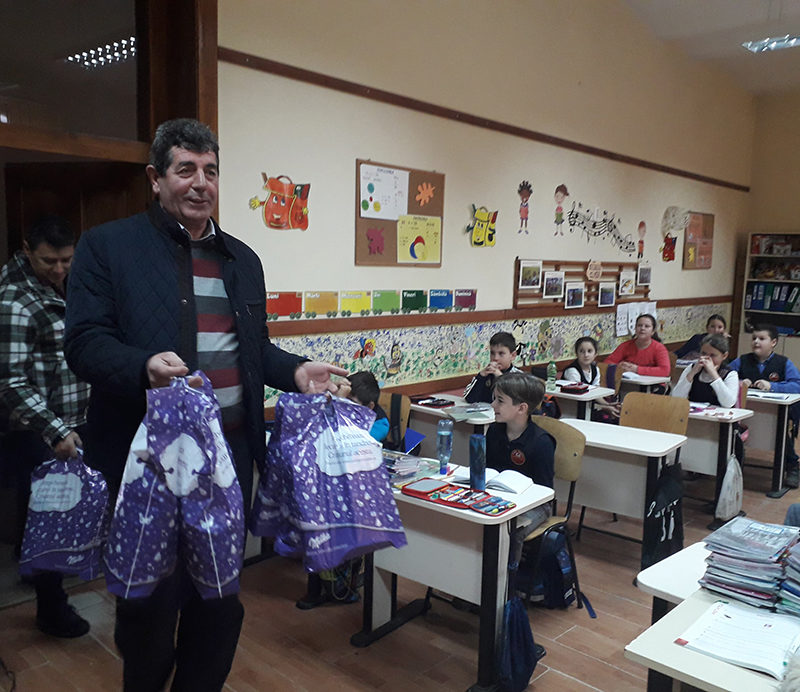 Gheorghe Buda: Moș Nicolae a venit la copiii din Șomcuta Mare