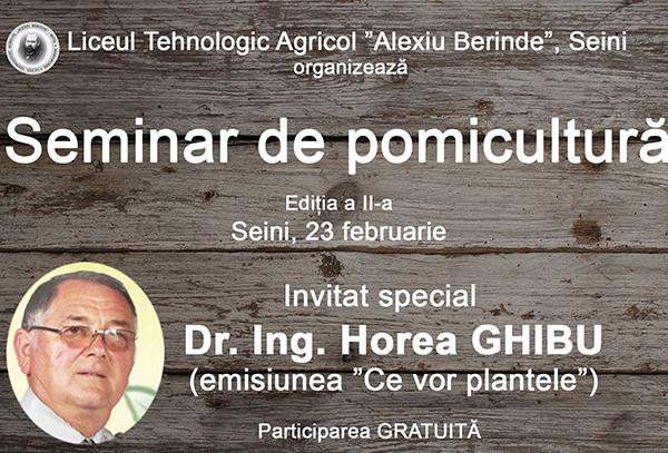 Pomicultorii din Chioar, invitați la seminar la Seini