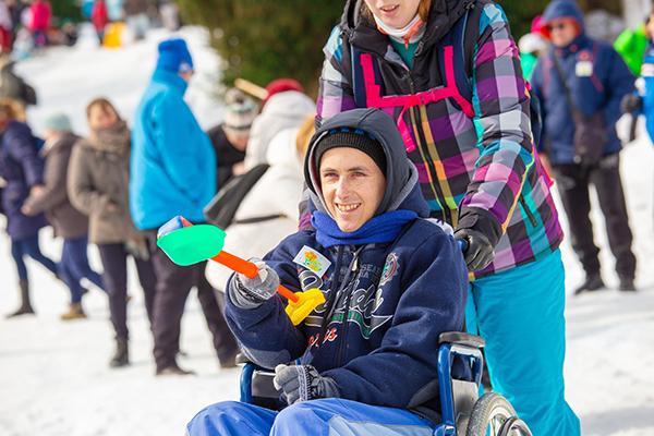 Copiii și tineri cu nevoi speciale, la Jocurile de iarnă