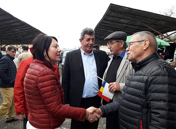 Europarlamentare. Crina Chilat  – susținută de chioreni