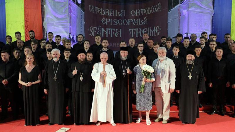 Corul din Vălenii Șomcutei – în concert cu Grigore Leșe