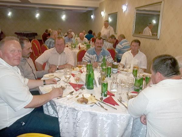 Pensionarii de la Mina Baia Sprie sărbătoresc