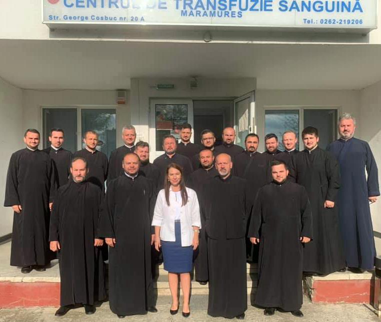 Preoții din Chioar – donatori la Centrul de Transfuzie