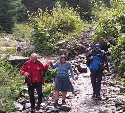 Turiști polonezi salvați de jandarmi