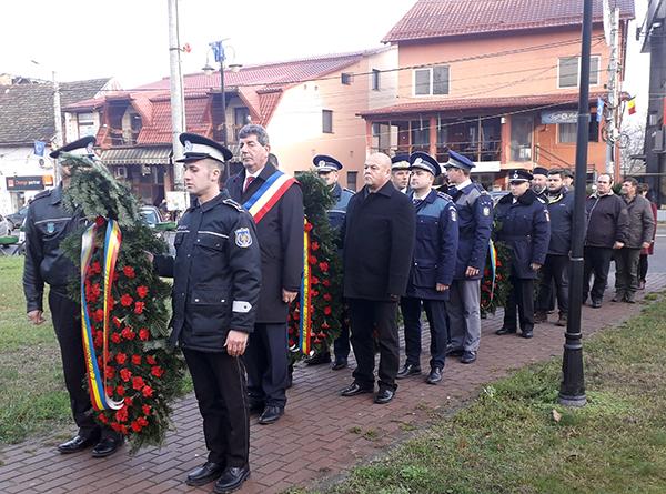 Depuneri de coroane de Ziua Națională, la Șomcuta Mare