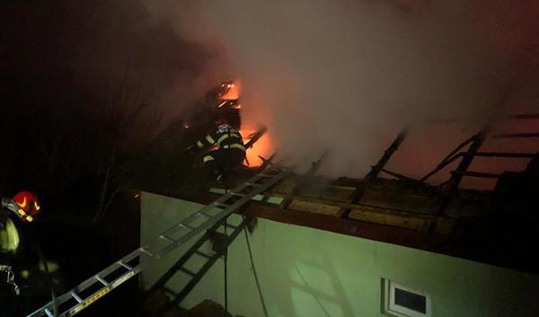 Dosar penal după incendiul de la Finteuș