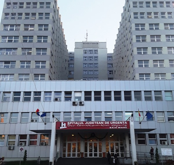 Program de vizită restricţionat la Spitalul Judeţean Baia Mare