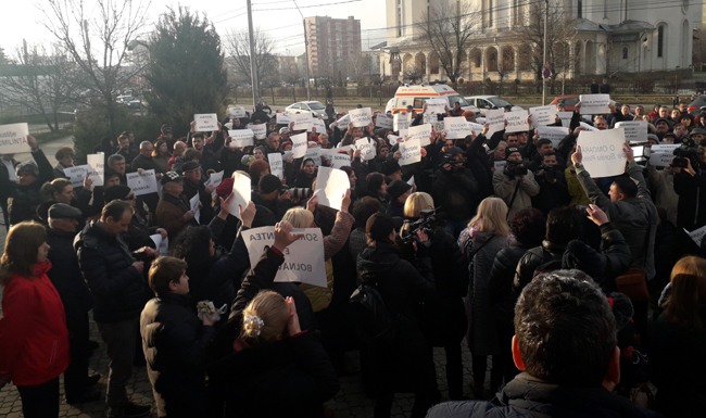 Solidari împotriva torturii. Rugăciune rostită pentru Sorina Pintea