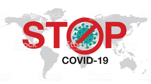 Stop Coronavirus, covid - 19 , China, Wuhan, Danger, vector Illustration.World Health Organization WHO introduced new official name for Coronavirus disease named COVID-19.