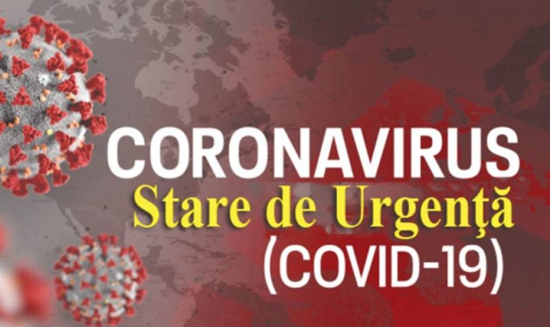 coronavirus, stare de urgenta