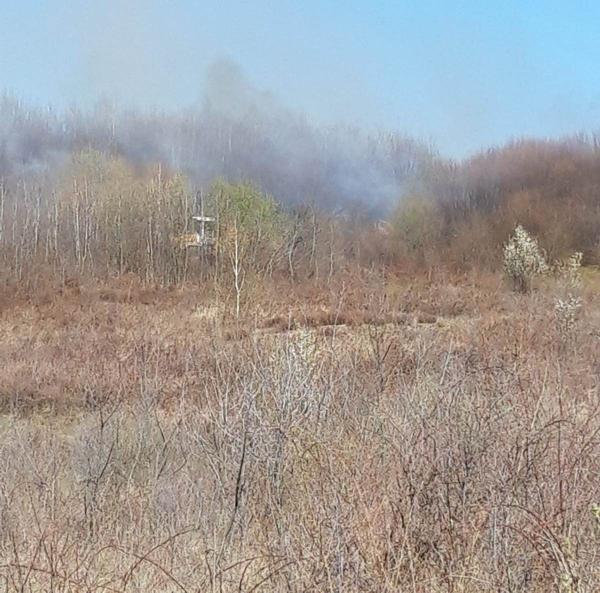 Incendiu la Valea Chioarului