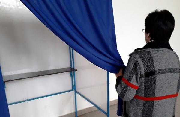 alegeri cabina vot