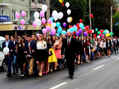"""Serenada absolventilor Liceului Teoretic """"Bogdan- Vodă"""", Vişeu de Sus"""