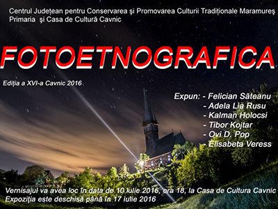 "Expoziţie ""Fotoetnografica"" la Cavnic"