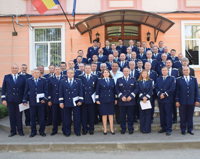 25 de poliţişti din Maramureş au predat ştafeta