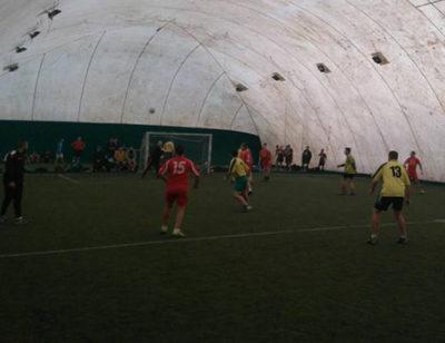 Pompierii din Vişeu – cei mai buni la minifotbal