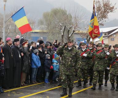 Paradă militară de Ziua Națională a României