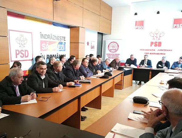 Rezoluție în PSD Maramureș pentru susținerea lui Dragnea