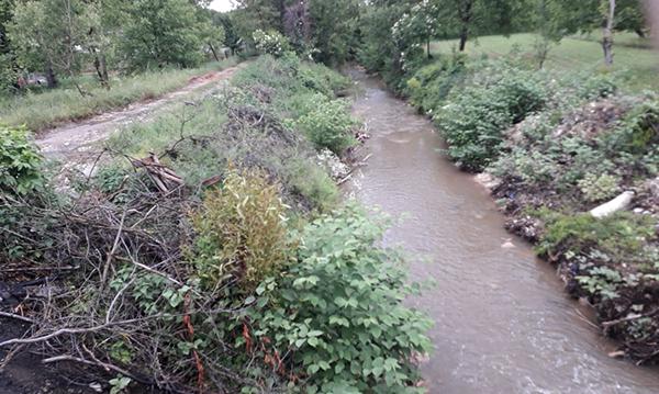 Malurile râurilor din județ transformate în depozite de deșeuri. S-au dat termene pentru salubrizare