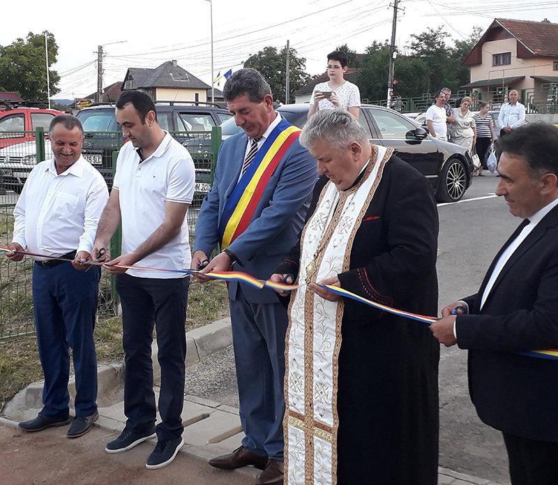 Gheorghe Buda la inaugurarea bazei sportive: M-am ținut de cuvânt