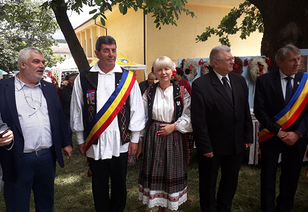 Centenar și inaugurare la Finteușu Mare