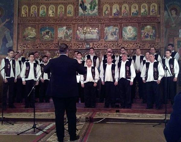 Concert de colinde la Vălenii Șomcutei