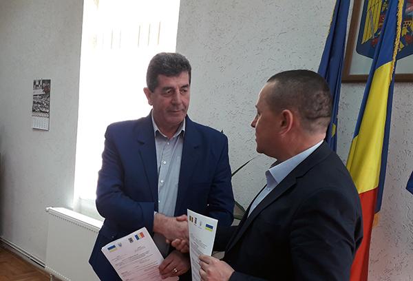 Delegație din Nadvirna, la Șomcuta Mare