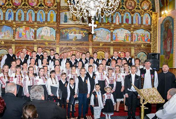 Concert de muzică religioasă la Buciumi