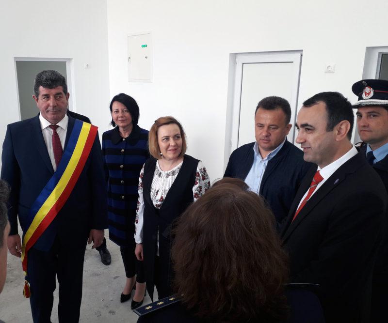 Gheorghe Buda, în dialog cu ministrul Carmen Dan: Avem nevoie de stație SMURD, la Șomcuta