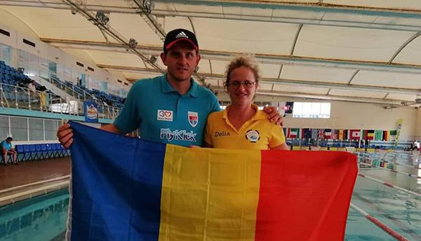Medalii pentru înotătorii de la Gold Stars, la campionatele din Tunisia