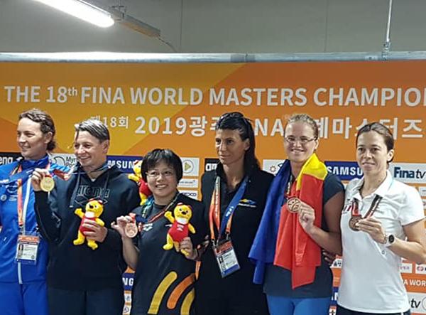 Medalii pentru înotătorii băimăreni la mondialele din Koreea