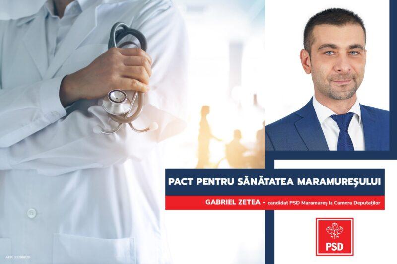 """APEL către partidele politice: Semnați """"Pactul pentru sănătatea Maramureșului"""""""