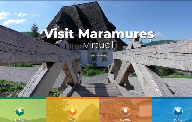 Maramureș, promovat virtual la Târgului de Turism al României
